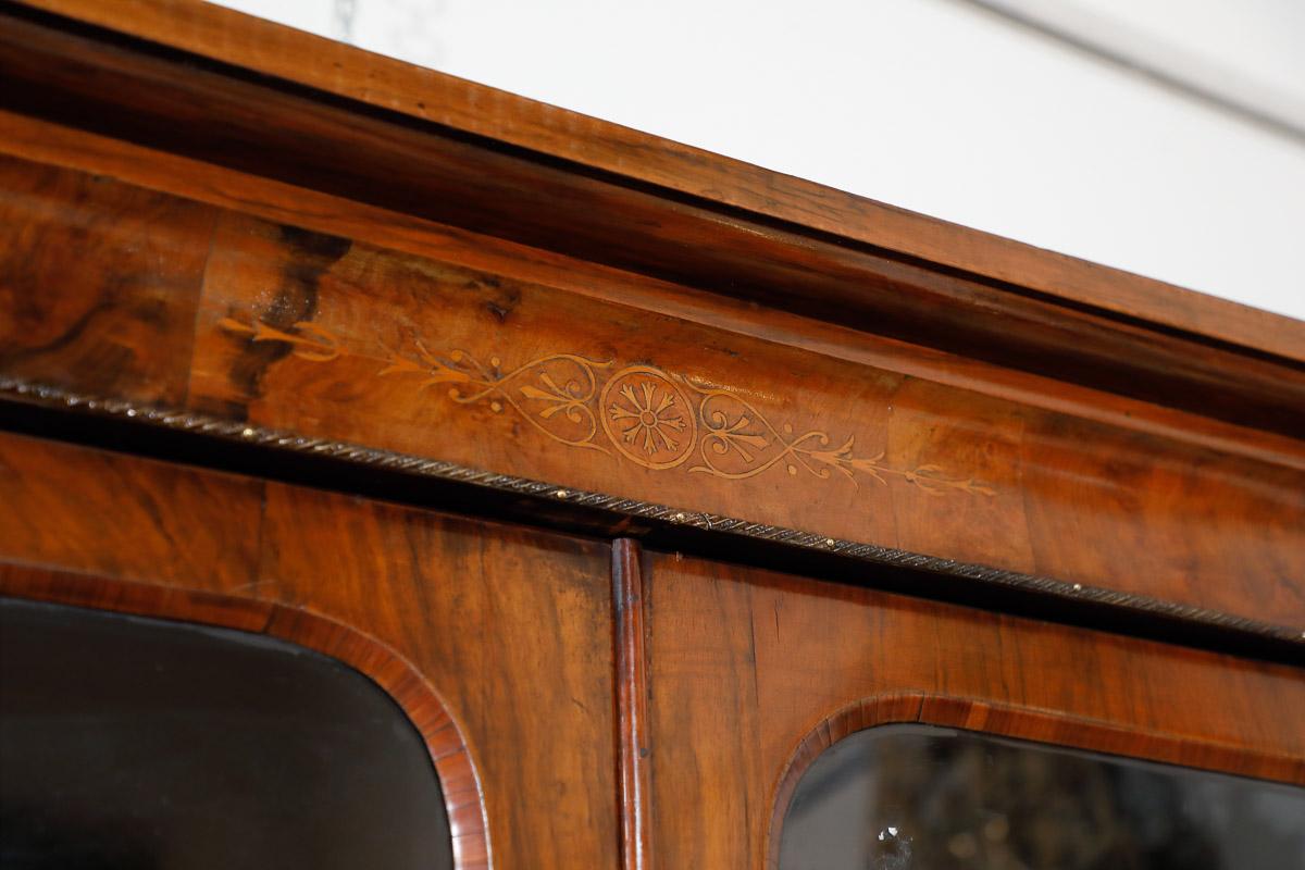 Credenza Con Vetrina Fine 800 : Libreria vetrina fine inglese mobili sisi antiquariato