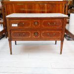 Small commodes in mahogany, late 18th century - Commodes