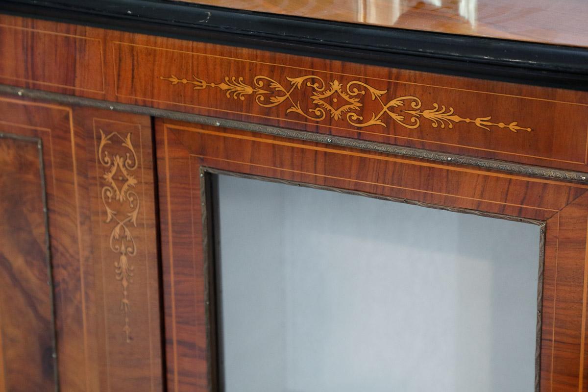 Credenza Vetrina Da Restaurare : Credenza vetrina epoca vittoriana mobili sisi antiquariato