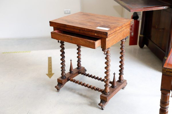 Tavolino da gioco a scacchiera e Backgammon - Tavoli e Scrittoi