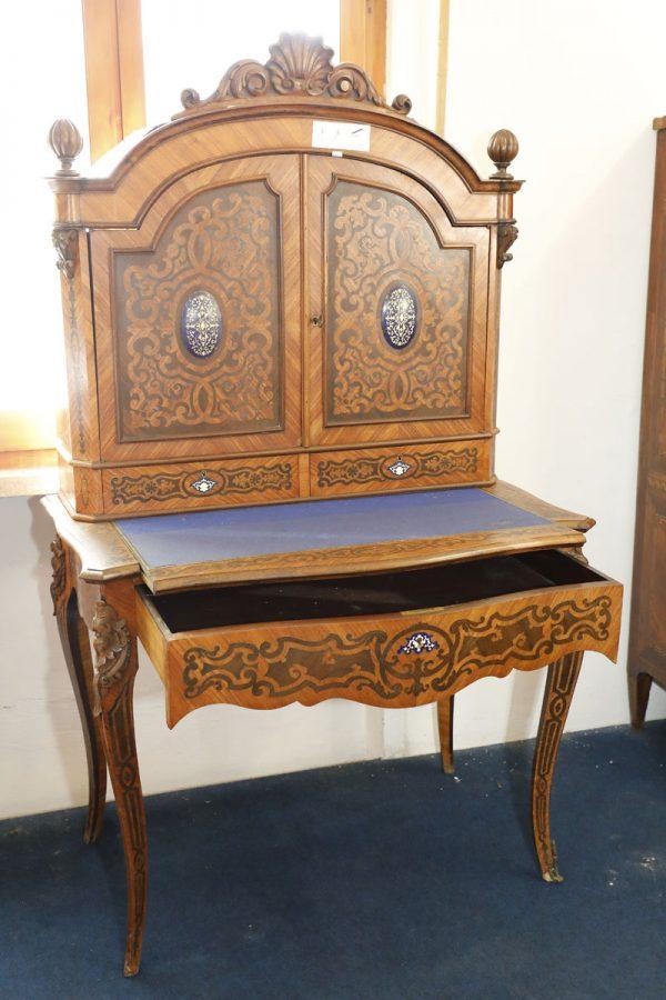 Mobiletto in palissandro, Francia Napoleone III - Consolle, Secretaire e Ribalte, Tavoli e Scrittoi